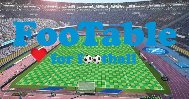 FooTable – Calcio in gioco