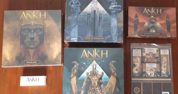 Unboxing di Ankh: Gods of Egypt (versione KS)